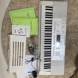 CASIO - CASIO LK-218 光ナビゲーション 電子キーボード