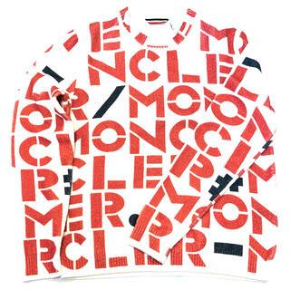 MONCLER - 【⭐️激レア⭐️新品⭐️】モンクレール レタリングプリント ニットセーター