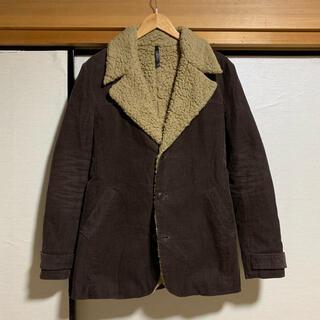 スリーオールドサーカス(THREE OLD CIRCUS)の日本製 THEE OLD CIRCUS sheep boa coat(カバーオール)