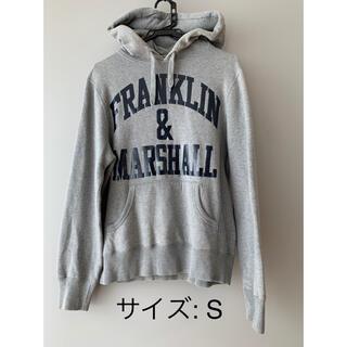 フランクリンアンドマーシャル(FRANKLIN&MARSHALL)のフランクリンマーシャル パーカー グレー(パーカー)