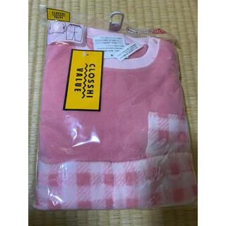 フリースパジャマ ピンク 90(パジャマ)