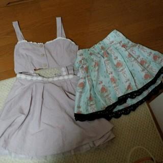 リズリサ(LIZ LISA)のガーリー&セクシーワンピ&スカート(ミニワンピース)