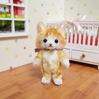 モールアート   猫(人形)