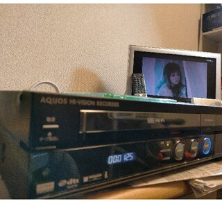 AQUOS - SHARP AQUOS DV-ACV52VHS内蔵レコーダ