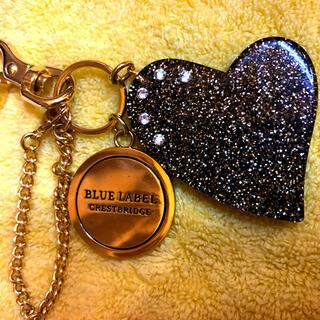 バーバリーブルーレーベル(BURBERRY BLUE LABEL)のクレストブリッジブルーレーベル バーバリー キーホルダー(キーホルダー)