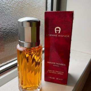 【未使用・箱付】アイグナー プライベート ナンバー women 香水 30ml