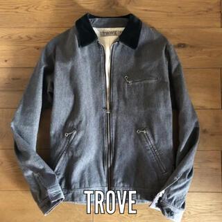 トローヴ(TROVE)のtrove ウール ライダースジャケット コート ブルゾン(ブルゾン)