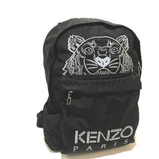 ケンゾー(KENZO)の新品同様 ケンゾー タイガー  バックパック リュックサック ブラック(リュック/バックパック)