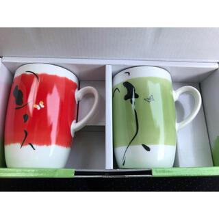 マグカップ ペア 韓国(グラス/カップ)