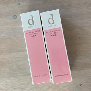 ディープログラム(d program)の新品 dプログラム  モイストケアローションW本体2本セットしっとり化粧水乾燥(化粧水/ローション)