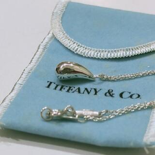 ティファニー(Tiffany & Co.)のティファニー ティアドロップネックレス(ネックレス)