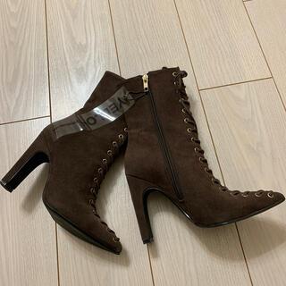 イエローブーツ(Yellow boots)の★YELLO★完売品レースアップブーツSサイズ(ブーツ)
