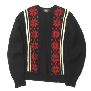 RRL Snowflake Knit Sweater 雪柄ニット M メンズ