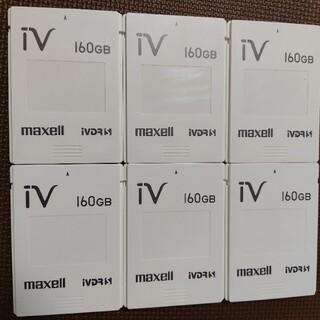 マクセル(maxell)の【maxell】iVDR-S 160GB(6個セット)※購入申請有(その他)