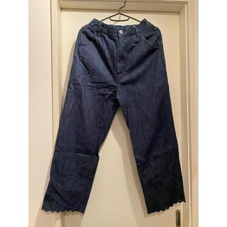 フラワー(flower)のダンボ様専用 🌼 scallop denim pants デニム パンツ(デニム/ジーンズ)