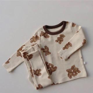 ZARA KIDS - 韓国子供服 くま パジャマ 90cm