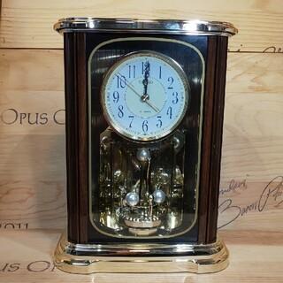 セイコー(SEIKO)の置き時計 振り子時計 SEIKO 高さ30横22奥行13㎝ 美品!(置時計)