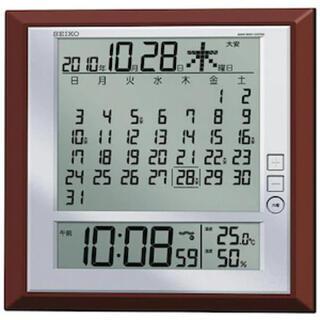 セイコー(SEIKO)のSEIKO カレンダー時計(置時計)