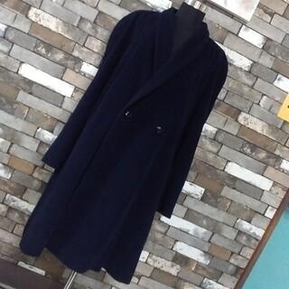 キャラット(Carat)のキャラット 紺 コート ウール(ロングコート)