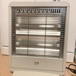 ヤマゼン(山善)の山善 電気ストーブ SERIO SRS-801 (ホワイト) 電気ストーブ(電気ヒーター)