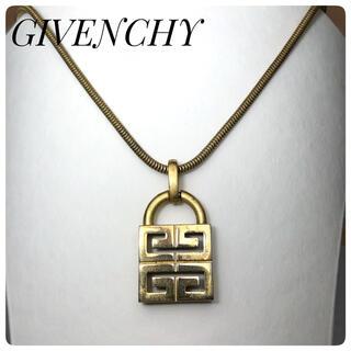 ジバンシィ(GIVENCHY)のジバンシー レディースネックレス ゴールド Gロゴ(ネックレス)