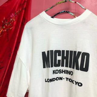 ミチコロンドン(MICHIKO LONDON)の394.ミチコロンドン MICHIKO LONDON Tシャツ Tee 【古着】(Tシャツ(半袖/袖なし))