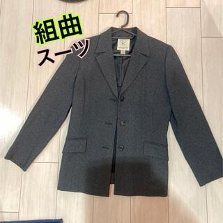 クミキョク(kumikyoku(組曲))の組曲 テーラードジャケット ダークグレー(テーラードジャケット)
