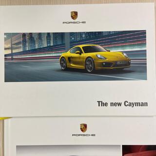 ポルシェ(Porsche)のポルシェ ケイマン 981 カタログ(カタログ/マニュアル)