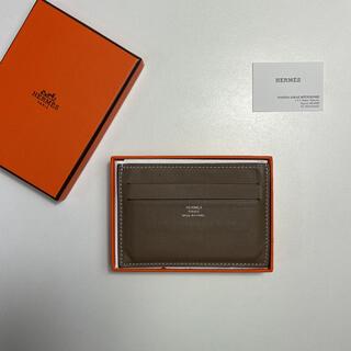 Hermes - 【人気カラー】HERMES エルメス シチズン ツイル カードケース エトゥープ
