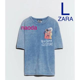 ザラ(ZARA)の【タグ付き新品】ザラ バックトゥザフューチャー Tシャツ BTF(Tシャツ/カットソー(半袖/袖なし))