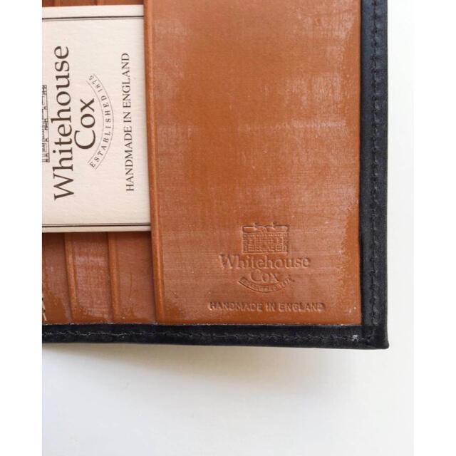 WHITEHOUSE COX(ホワイトハウスコックス)の新品 ホワイトハウスコックス Whitehouse Cox 長財布 ブラック メンズのファッション小物(長財布)の商品写真