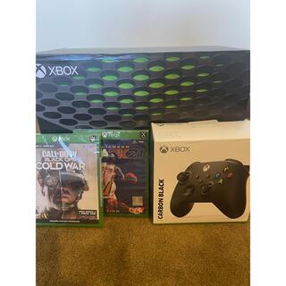 エックスボックス(Xbox)のXbox X 新品未開封(家庭用ゲーム機本体)