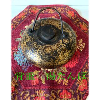 ◆骨董お値下げ⇒1100古美術品 アンティーク 貴重な年代物の湯たんぽ ◆(金属工芸)