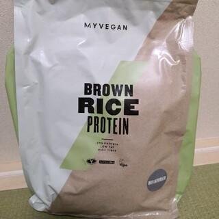 マイプロテイン(MYPROTEIN)のマイプロテイン ブラウンライス 玄米プロテイン ノンフレーバー 2.5kg(プロテイン)