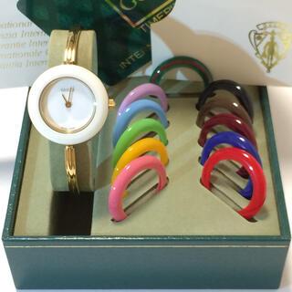 グッチ(Gucci)の3.新品同様 グッチ GUCCI 時計 チェンジベゼル(腕時計)