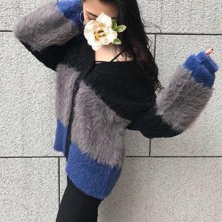 アンビー(ENVYM)のENVYM♡Blocking Knit CD(カーディガン)