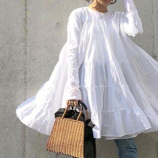 トゥモローランド(TOMORROWLAND)のマーレット ワンピース SOLIMAN DRESS(ミニワンピース)