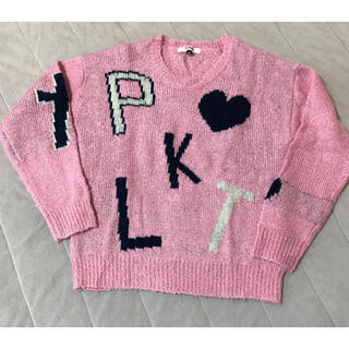 ピンクラテ(PINK-latte)の Pinklatte  (ピンクラテ サイズxs)(ニット)