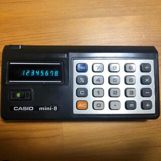 CASIO - CASIO MINI 蛍光管 計算機 レトロ電卓 70s