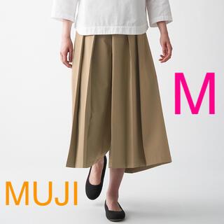 ムジルシリョウヒン(MUJI (無印良品))の新品 無印良品 乾きやすいストレッチ はかまパンツ 婦人・M   ベージュ(その他)