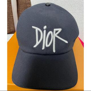 ディオール(Dior)の正規品新品Dior Shawn 黒キャップL 本物 ブラック帽子(キャップ)