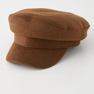 アズールバイマウジー(AZUL by moussy)の帽子 MELTON CASQUETTE/メルトンキャスケット(キャスケット)