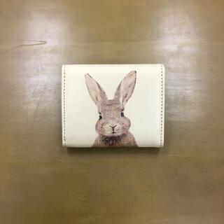 ポールアンドジョー(PAUL & JOE)のポールアンドジョー 革財布 三つ折り財布 うさぎ柄 ウサギ PAUL & JOE(財布)