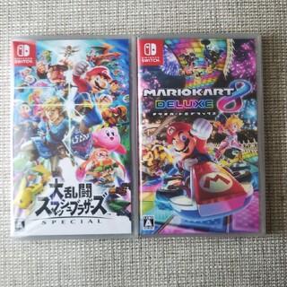 ニンテンドースイッチ(Nintendo Switch)の大乱闘スマッシュブラザーズ   マリオカート8(家庭用ゲームソフト)