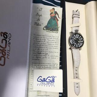 GaGa MILANO - 正規品 ガガミラノ マヌアーレ40 ユニセックス