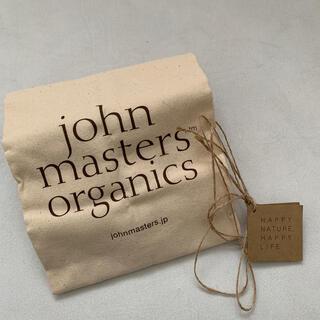 John Masters Organics - ジョンマスターオーガニック エコバッグ トートバッグ 新品 未使用