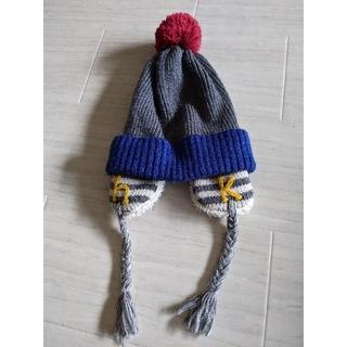 ハッカキッズ(hakka kids)のハッカ hakka ニット帽 キッズMサイズ(帽子)
