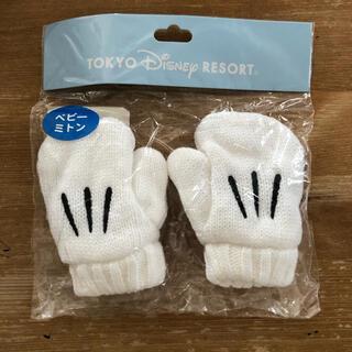 Disney - 新品 未使用 ディズニーリゾート ミッキー ベビーミトン