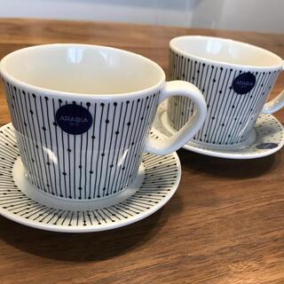 アラビア(ARABIA)の新品アラビア マイニオ コーヒーカップアンドソーサー(グラス/カップ)