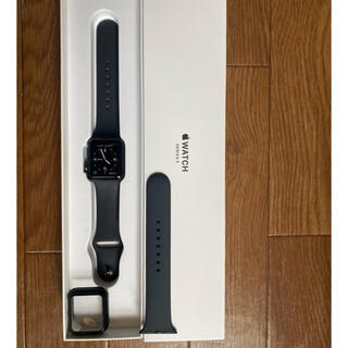アップルウォッチ(Apple Watch)のapple watch3 38mm GPSモデル(その他)